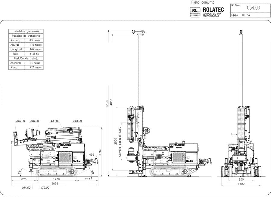 RL-34 Plano de conjunto