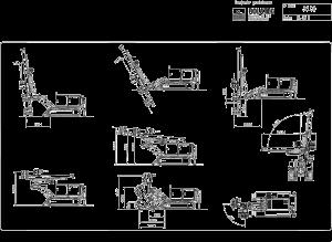 Rolatec RL-36-D Plano de posiciones